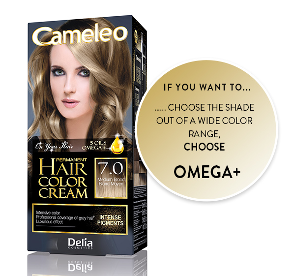 Henna vs farba – Cameleo – on your hair