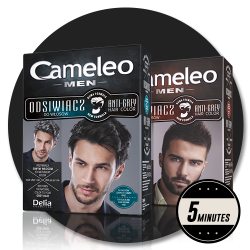 Secrets of men\'s hair coloring – Cameleo – on your hair